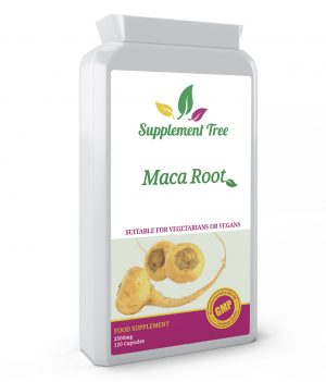 Maca Root 2500mg 120 Capsules