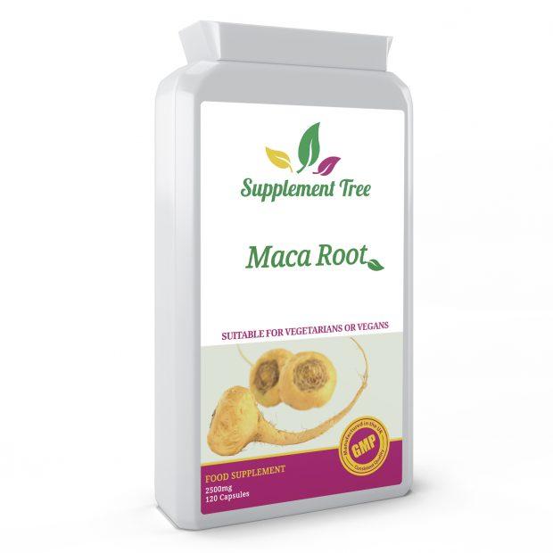 Maca Root 2500mg 120 Capsules