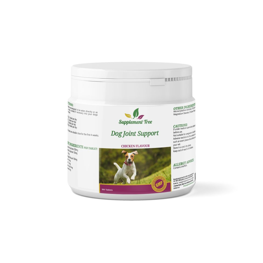 Joint Support Tablets for Dogs 300 Pack