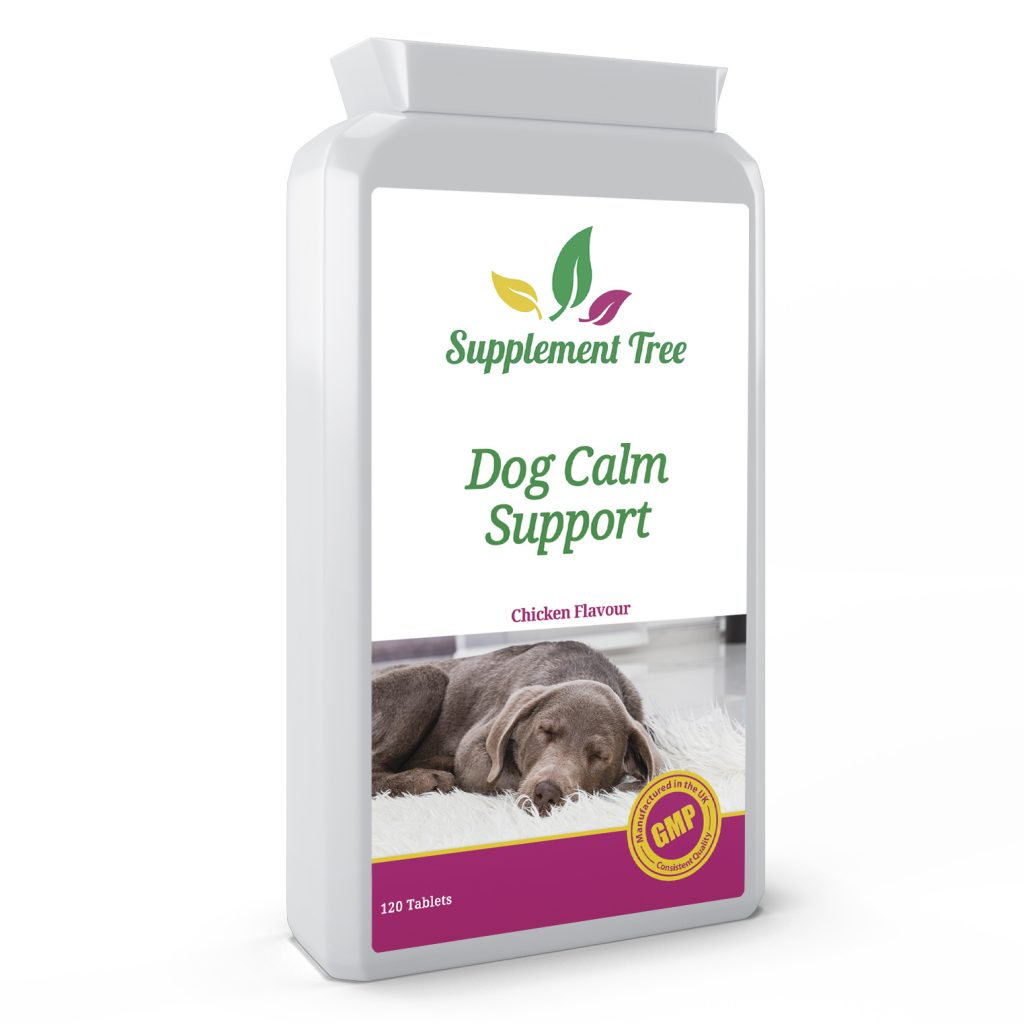 Dog Calming 120 Chicken Flavour Tablets