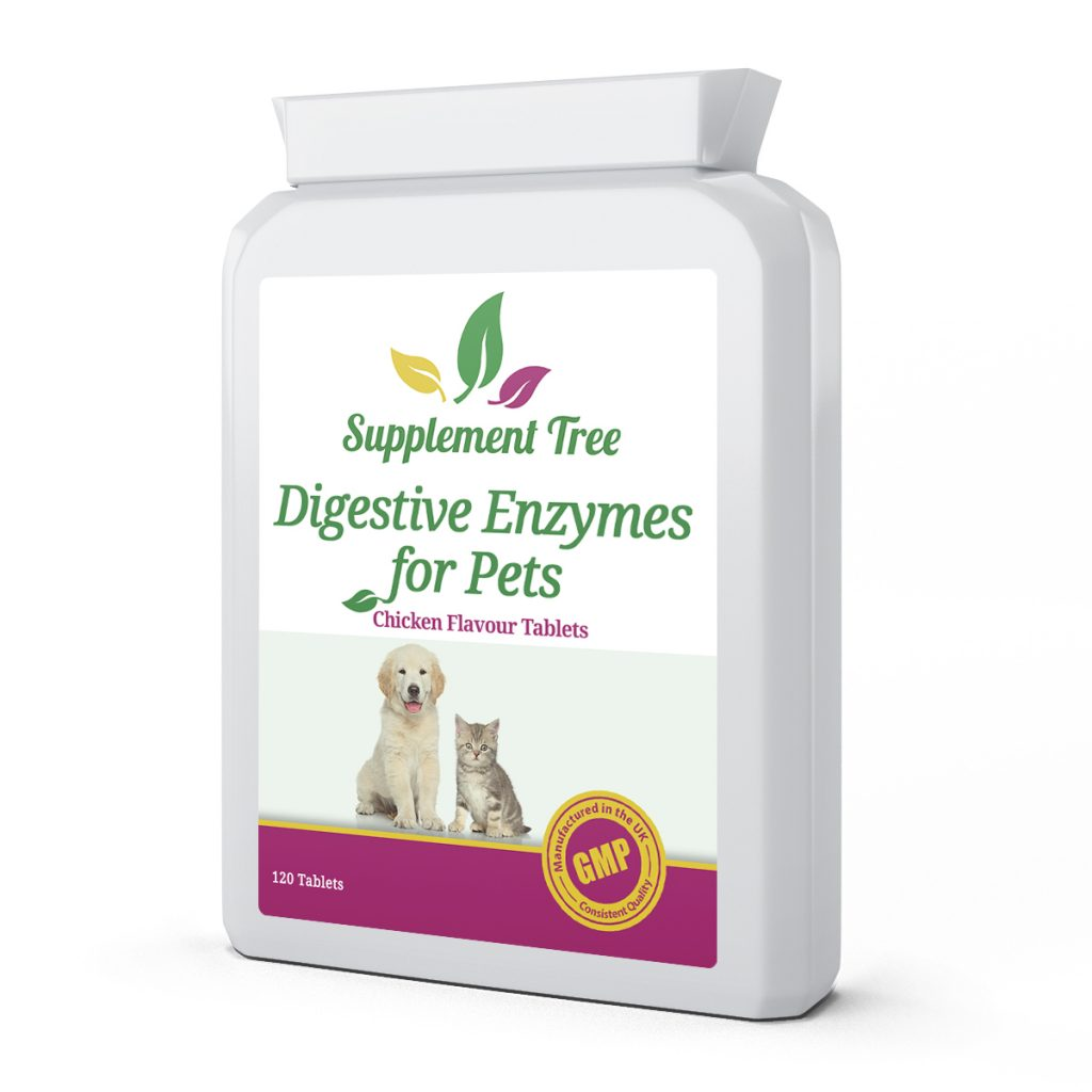 Digestive Enzymes for Cats & Dogs 120 Tablets