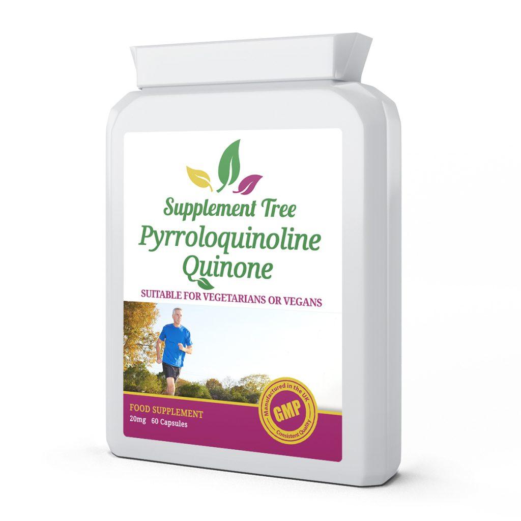 PQQ Pyrroloquinoline Quinone 20mg 60 Capsules