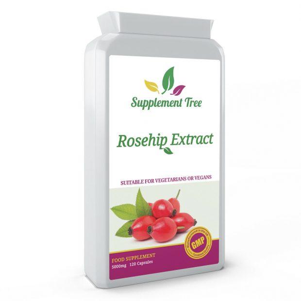 Rosehip Oil Powder Capsules