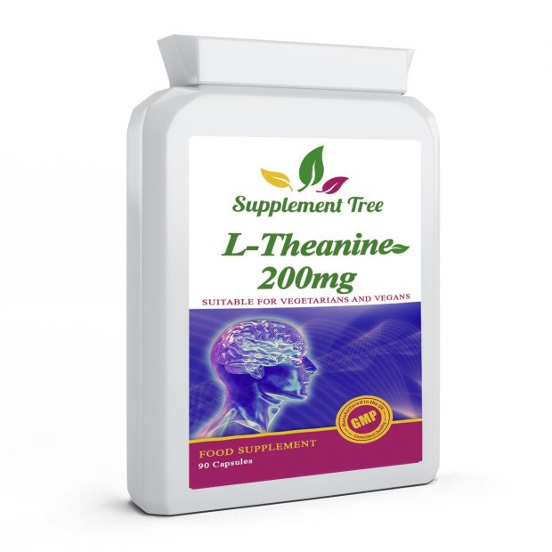 L-Theanine 200mg 90 Capsules