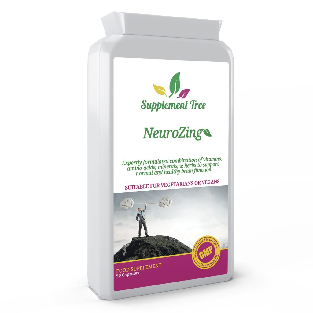 NeuroZing Brain Support Complex 90 Capsules